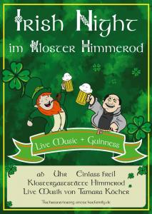 Irish Night mit Tamara Köcher @ Klostergaststätte Himmerod
